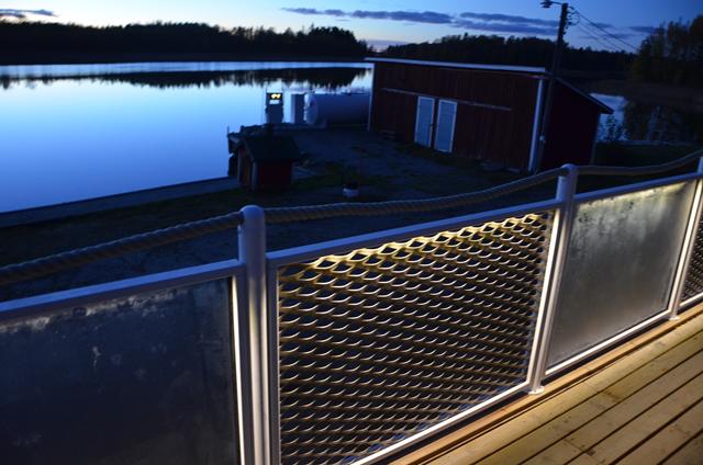Räcken och staket i Aluminium, ribbräcke, glasräcke | LEDFE - Blogg